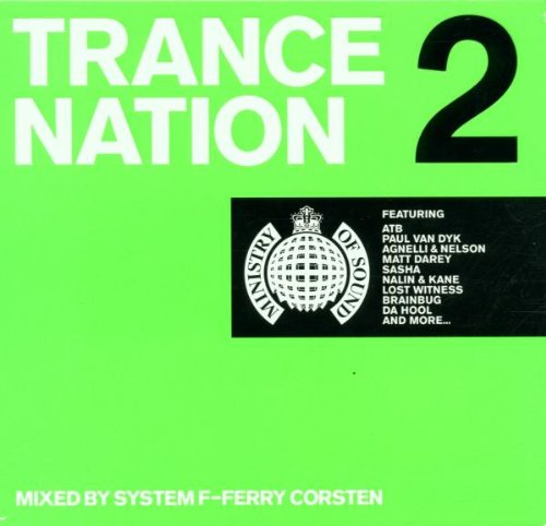 Various-Artists-Ministry-of-Sound-Trance-Nation-2-2CDs-1999